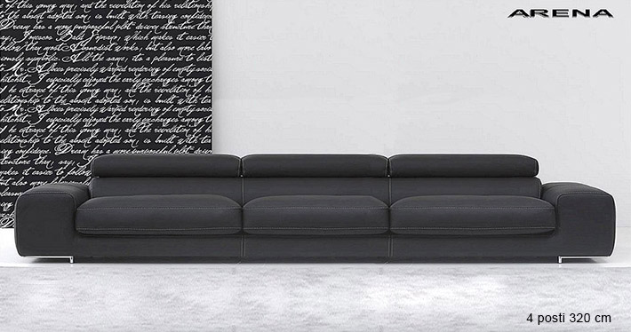 ledersofa arena. Black Bedroom Furniture Sets. Home Design Ideas