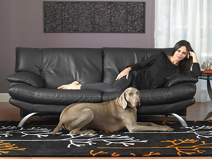 Ledersofa brooklyn for Italienische ledersofas