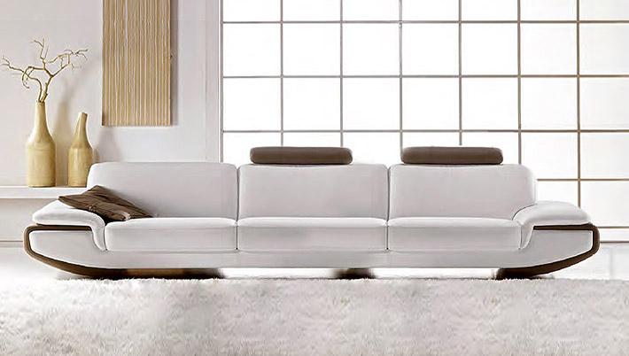 Modernes ledersofa nirvana for Divano 4 posti dimensioni