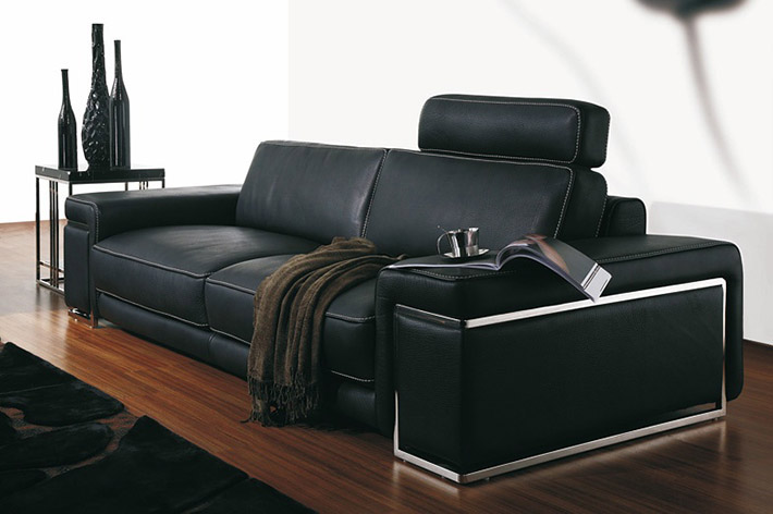ledersofa torino. Black Bedroom Furniture Sets. Home Design Ideas